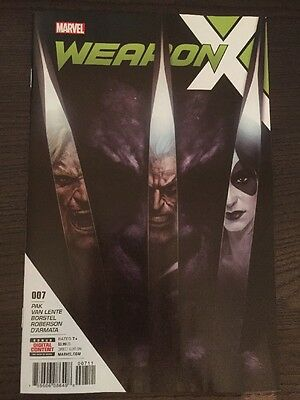 Weapon X #7 Marvel Comics
