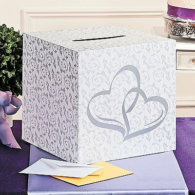 WEDDING GIFT CARD Box Hotel Reception Wishing Wells Envelope Money Holder