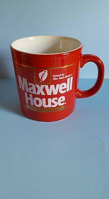 Maxwell House Instant Coffee Red Coffee Mug