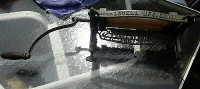 Antique No. 732 bicycle ball bearing Clothes Wringer Washer Lovell Mfg. Co.