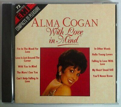 Alma Cogan - With Love In Mind - Alma Cogan CD AYVG The Cheap Fast Free Post The