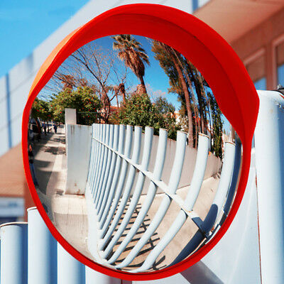 "18""  Wide Angle Security Curved Convex Road PC Mirror Traffic Driveway Safety"