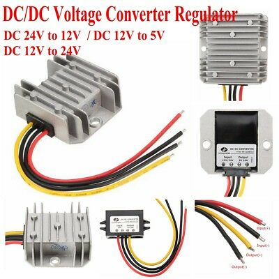 DC /DC Voltage Converter Regulator Step Down / Step Up Adapter Car Power Module