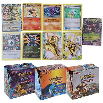 324pcs Pokemon Go TCG Booster Box English Edition Break Point 36 Packs Cards Toy