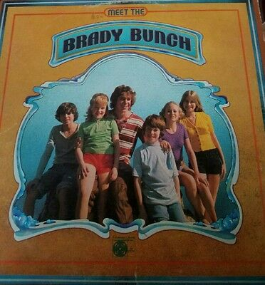 The Brady Bunch - Meet The Brady Bunch ** *AUTOGRAPHED ***Signed - Vinyl Record