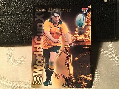 Rugby World Cup Insert Card WC3