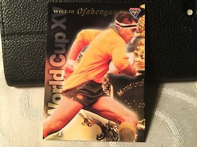 Rugby World Cup Insert Card WC7