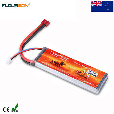 2S1P 7.4V 3300mAh 35C LiPo Battery Deans for RC Car Airplane Helicopter Truck AU