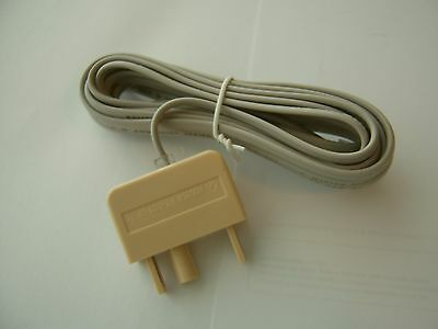 RJ11 to RJ11  ADSL Internet Broadband Modem Phone Cable plus Adapter