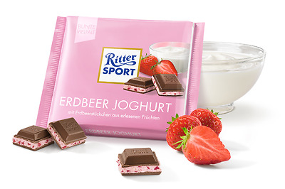 Ritter Sport Strawberry Yogurth *EXPIRATION DATE JULY 2017*
