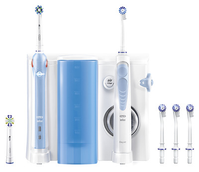 Braun Oral-B Center OxyJet Munddusche + PRO 1000