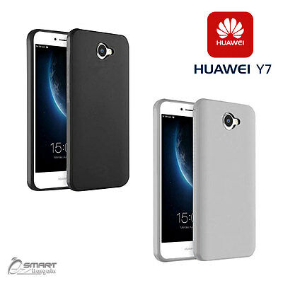 Matte Gel Soft TPU Gel Jelly Rubber Case Cover For Huawei Y7