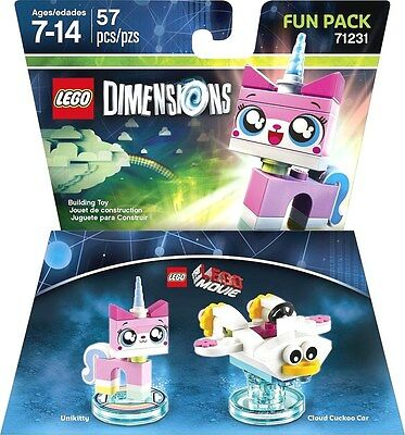 Lego Dimensions 71231 - Unikitty Fun Pack (The Lego Movie) NEW Factory Sealed
