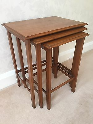 Antique Mahogany Small Nest of 3 Tables in Loughton, Essex
