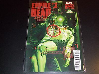 George Romero's Empire of the Dead Act 2 #1 1st print Night Dawn Dead Walking