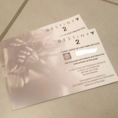 Destiny 2 Confluence Of Light Emblem Code