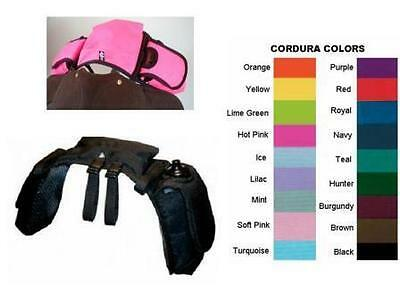 NEW English Saddle Pommel Trail Bag Endurance Gear Carrier Many Color Choices