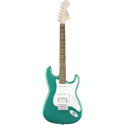 Squier Affinity Series Stratocaster HSS Electric Guitar - Race Green, New!