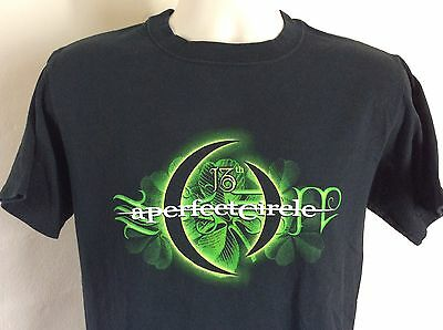 2003 A Perfect Circle 13th Step T-Shirt Black S Tool Hard Rock Band Metal