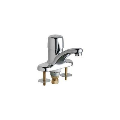 Chicago Faucets 3400-ABCP Single Supply Metering Sink Faucet , Chrome