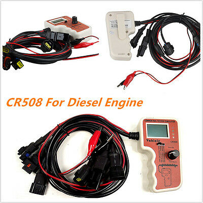 CR508 Car Auto Common Rail Diesel Engine Fuel Pressure Tester and Simulator Tool