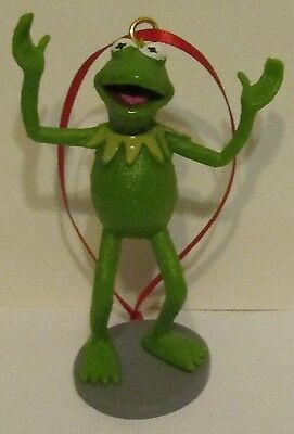 Disney Muppets Ornament - Kermit Hands up! Don't Shoot! A Frogs Life Matters!