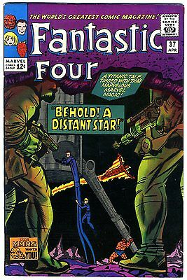 """Fantastic Four #37 VF/NM 1965 """"strict grading"""" and """"1 day shipping"""" - 50% off"""