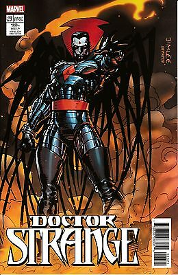 DOCTOR STRANGE #23 - Jim Lee X-Men Card Variant - NM - Marvel Comics