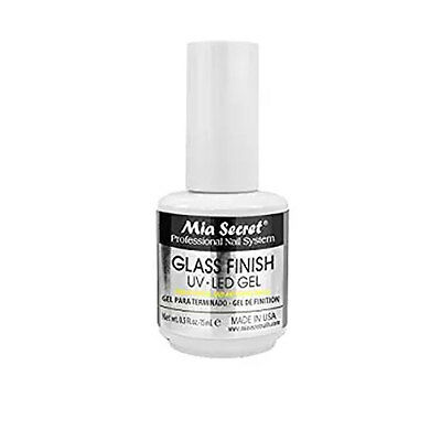 Mia Secret Glass Finish UV/LED Gel 0.5 oz / 15ml ( FG-6S )