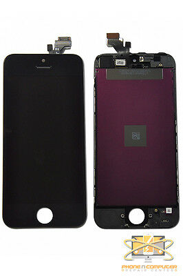 OEM USA iPhone 5 Screen Replacement (BLK) LCD Display, Touch Digitizer an Frame