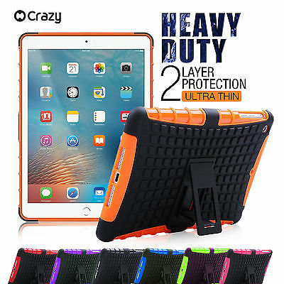 "Shockproof Heavy Duty Tradesman Tough Case Cover for iPad Pro 9.7"" 12.9"""
