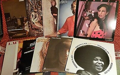 Lot Of Ten Vinyl Record Mixed Lot 70s and 80s Pop Rock