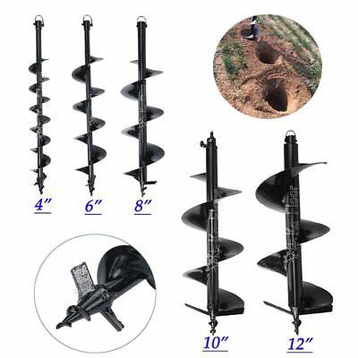 "4""/6""/8""/10""/12"" Pro Earth Auger Bits for Gas Powered Post Hole Digger"