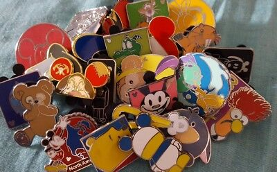 Disney Pin Trading Lot of 12 Assorted Pins - Brand NEW - No Doubles -Tradable #2