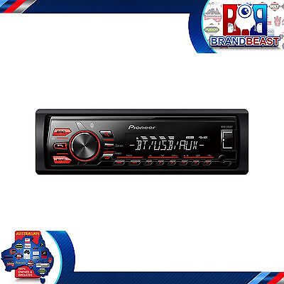 PIONEER MVH-295BT Digital Car Stereo, Bluetooth, Usb Aux-in Iphone Mvh295bt