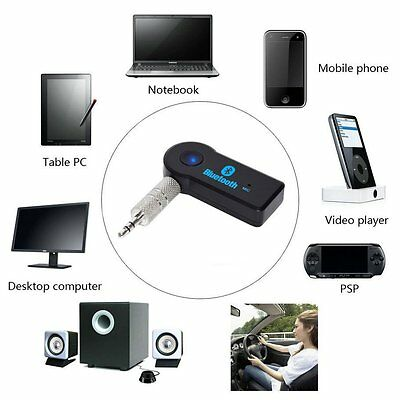 3.5mm Aux Wireless USB Mini Bluetooth Stereo Audio Music Car Adapter Receiver