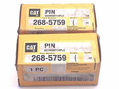 Caterpillar CAT 268-5759 PIN 2685759 for Motor Grader 24M Genuine CAT x 2