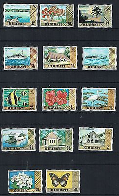 Kiribati Stamps colourful collection