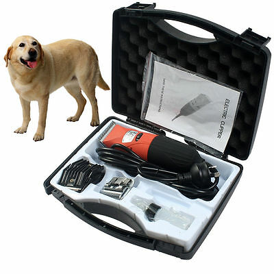 Electric Pet Dog Cat Clipper Clip Trimmer Grooming Comb Animal Puppy Haircut Kit