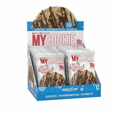 ProSupps MyCookies High Protein Meal Replacement Cookies Box of 12 Pro Supps