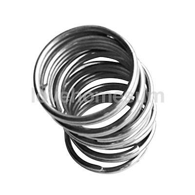 10x Silver 316 Stainless Steel Scuba Diving Split Ring Gear Attachment 22mm