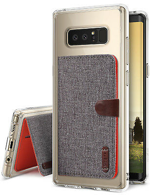 Galaxy Note 8 Case, [Value Accessory Kit] Ringke FUSION [FREE Flip Card Holder]