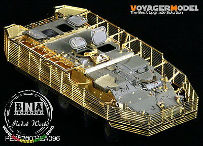 Voyager 1/35 Stryker M1126 Detail Set w/Slat Armour for AFV Club #35126 PE35200