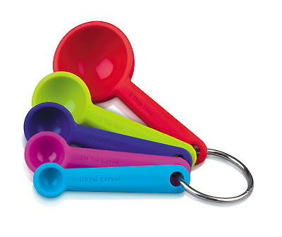 Zeal By CKS Perfect Measure Silicone Measuring Spoon Set