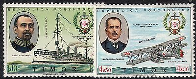 Portuguese Timor 1967 Centenary of Military Naval Association Set MUH