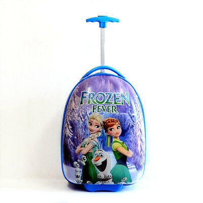 New Kid Gift Wheeled Rolling Suitcase Travel Bag Luggage Trolley ( 16'' Frozen )