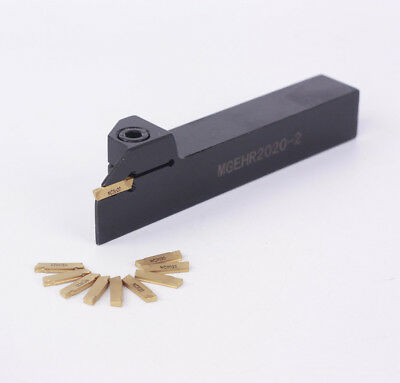 MGEHR2020-4 20×125 mm CNC Grooving Tool holder for MGMN400 Inserts