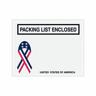 "Box Packaging ""Packing List Enclosed"" Envelope, 2 Mil Poly, 7"" x 5.5"" 1,000/cs"