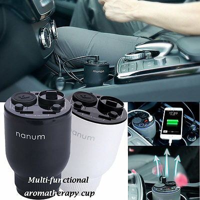 2 in1 Car Humidifier Air Purifier Freshener Aromatherapy Essential oil Diffuser