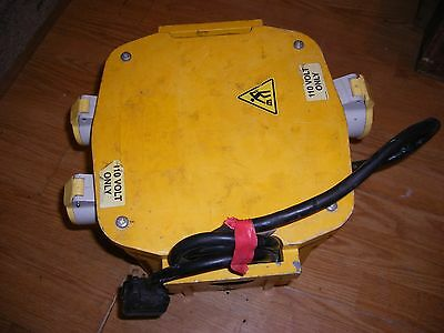 5 KVA Site Transformer 2 X 16 A & 1 X 32 Amp 110 V Volt Single Phase UK BUILT !